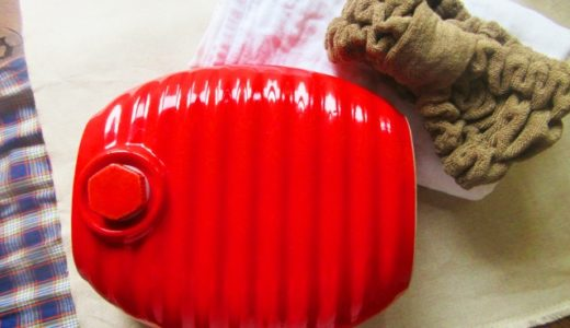 冬の電気代節約・乾燥予防は湯たんぽがおすすめ!寝る時ポカポカで乾燥しらず!